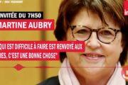 Municipales : Pourquoi Martine Aubry veut rejouer le match