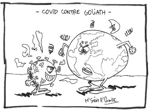 Covid contre Goliath