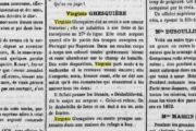 Ces connus méconnus (4/7) : Virginie Ghesquière, femme-soldat (et peut-être nordiste)