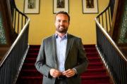 Valentin Belleval, maire d'Hazebrouck et président de la CCFI : Hazebrouck et le territoire doivent...