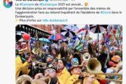 Pas de carnaval de Dunkerque en 2021