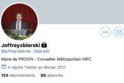 Joffrey Zbierski est le nouveau président des Maires du Nord