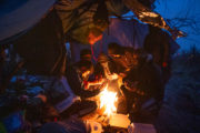 Instantanés migratoires à Calais et Grande-Synthe