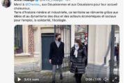 Douai, rampe de lancement d'Anne Hidalgo