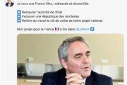 Demi-pschitt pour Xavier Bertrand qui oublie la logique de la Vème République