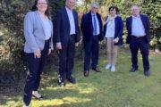 Canton de Lambersart : Jean-René Lecerf parraine Jacques Houssin et Marie-Laurence Fauchille