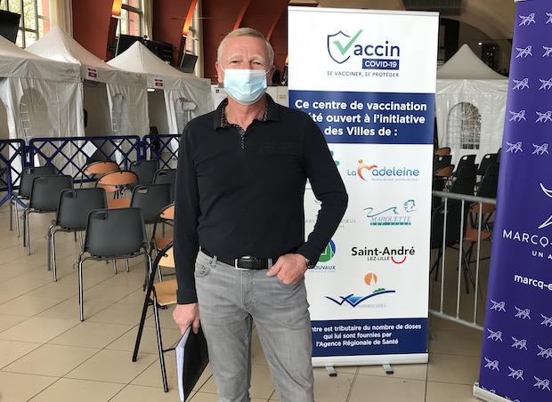 "Au vaccinodrome de Marcq-en-Baroeul, ""on va bientôt passer à 880 doses quotidiennes"""