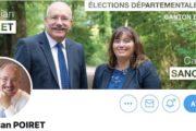 Départementales Nord : Christian Poiret l'affirme, il sera «candidat à la présidence jusque dans l'hémicycle»