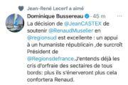 """La """"déflagration Muselier"""" éblouit Jean-René Lecerf qui s'oppose au passage en force de Xavier Bertrand"""