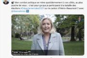 Départementales : Marine Le Pen candidate à Hénin-Beaumont et porte-drapeau de tous les candidats du...