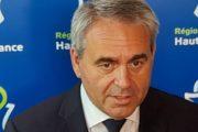 Monsieur le président de la république des Hauts-de-France est élu