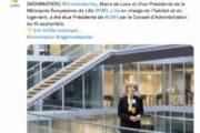 Anne Voituriez élue présidente de Lille Métropole Habitat