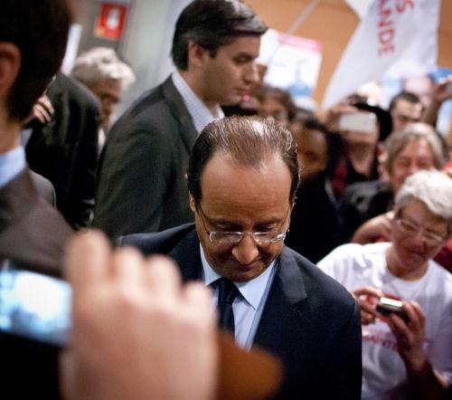 Retour sur les meetings : en terre socialiste, Hollande perd au Mélenchonmètre