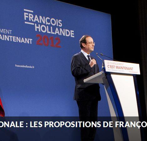 Ce que peut changer l'élection de François Hollande pour la région