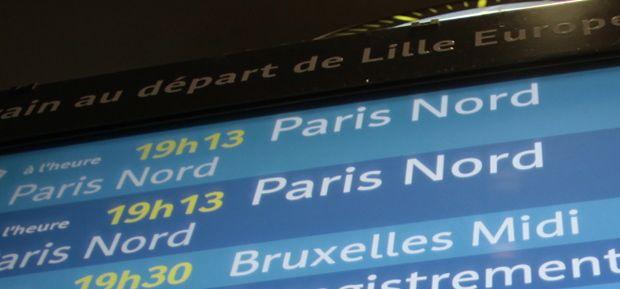 Lille-Paris : on a comparé les prix des différents moyens de transports