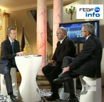 Télés belges : il était la présidentielle une fois !