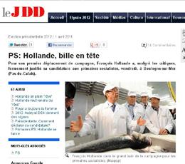 François Hollande Président : un candidat inauguré à Boulogne-sur-Mer