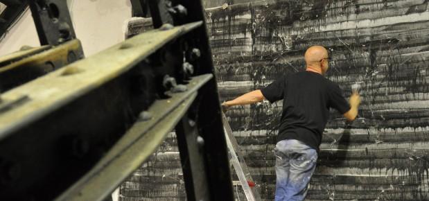 Imbroglio au centre historique minier de Lewarde : l'artiste ne peut pas récupérer ses toiles