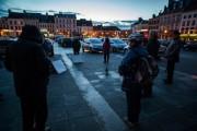 Saint-Omer : dans le cercle du silence, toujours le mutisme pour dénoncer le sort des migrants