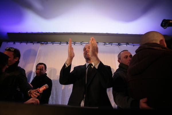 HENIN-BEAUMONT : Steeve Briois elu maire au premier tour