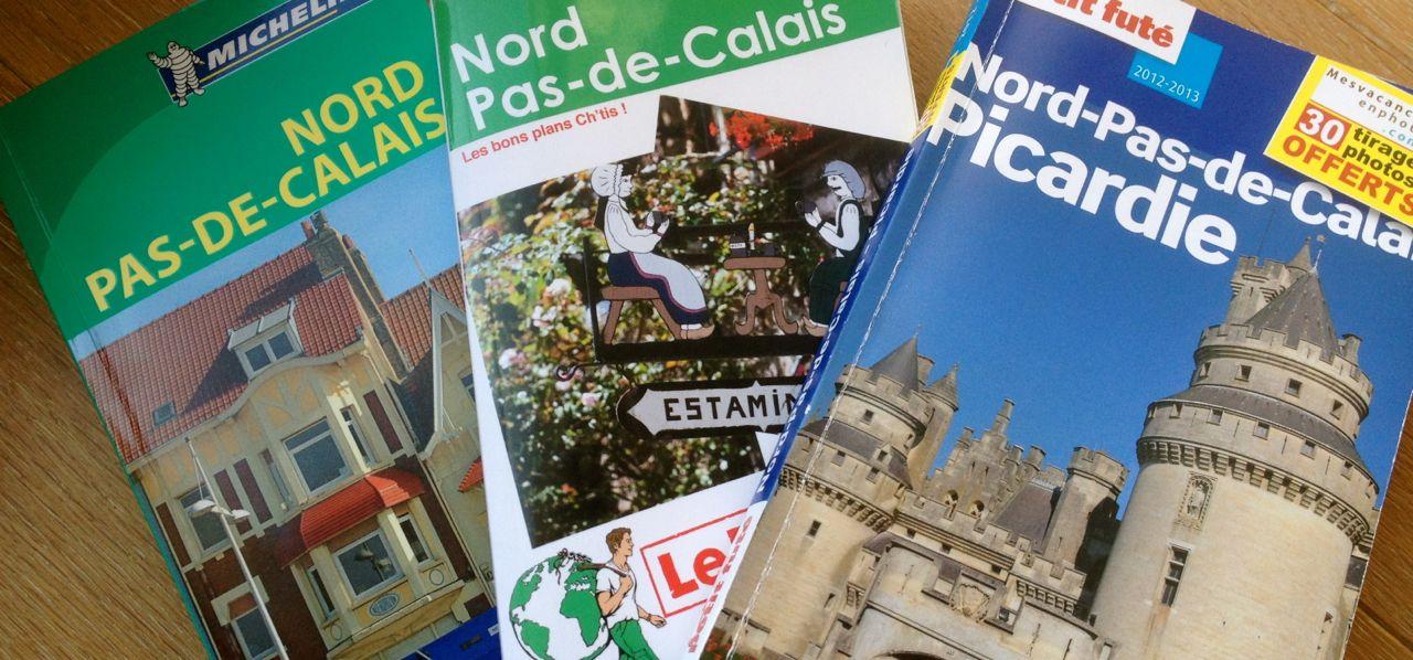 Petit Futé, Routard, Guide Vert : on a lu et comparé les guides de voyages sur le Nord – Pas-de-Calais