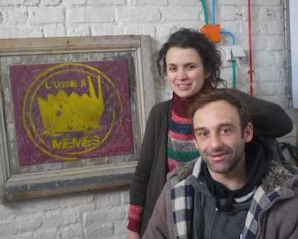 Oreli Paskal et Jérôme Desliens. Crédit photo Eulalie.