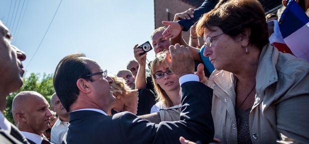Un quinquennat à Denain : on était à la visite présidentielle de François Hollande