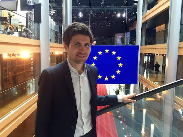 Jean-Gabriel Audebert-Lasrochas, assistant parlementaire du député européen Dominique Riquet n'est autre que le petit-fils de Léonce Deprez, ancien député-maire du Touquet. Crédit photo Jean-Gabriel Audebert-Lasrochas