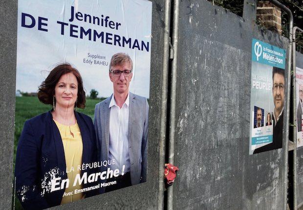 Jennifer Temmerman, la candidate de LREM, perturbe la Primaire de la droite dans la quinzième circonscription du Nord. Photo : DailyNord